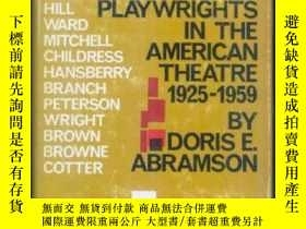 二手書博民逛書店【罕見】Negro Playwrights In The Ame