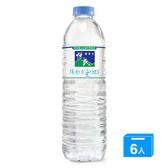 悅氏礦泉水600ml*6入【愛買】