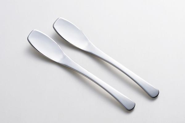【日本製】【YOSHIKAWA吉川鄉技】日本製 好挖好塗 果醬匙 & 奶油刀兼用 兩入組 SD-3066 - 日本製
