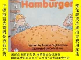 二手書博民逛書店Huge罕見hamburger ..Y12498 Rosann