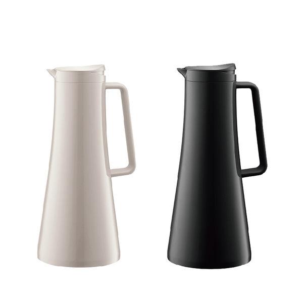 丹麥Bodum-BISTRO哥本哈根保溫瓶 1.1L (黑色/白色)