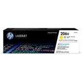 HP 206X 高列印量青色原廠 LaserJet 碳粉匣 (W2111X)