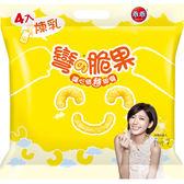 乖乖彎脆果-煉乳玉米52g*4入【愛買】