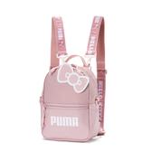 Puma Hello Kitty 粉色 後背包 肩背包 側背包  小包包 雙肩包 背包 07718801