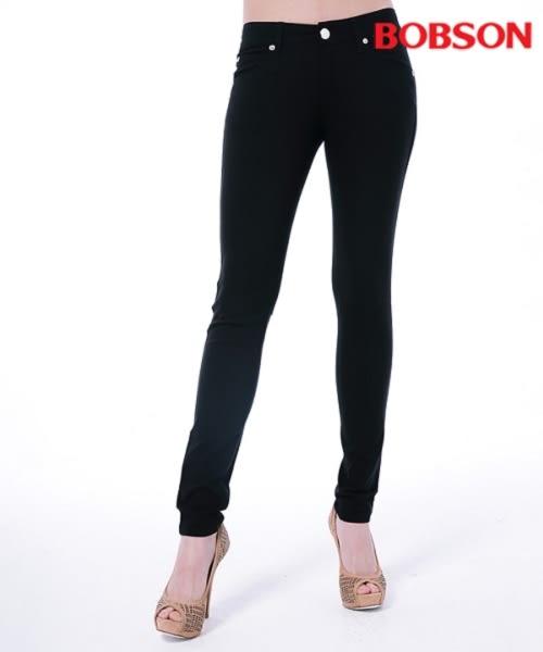 BOBSON 女款低腰彩色涼爽紗緊身褲(8130-87)