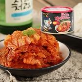 韓國 SamYang 三養火辣雞肉風味泡菜罐頭 160g【庫奇小舖】