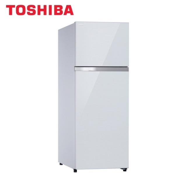 TOSHIBA 東芝 409公升 雙門變頻冰箱-貝殼白 GR-AG461TDZ