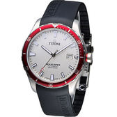 TITONI SEASCOPER系列 潮流潛水機械錶-83985SRB-RB-516