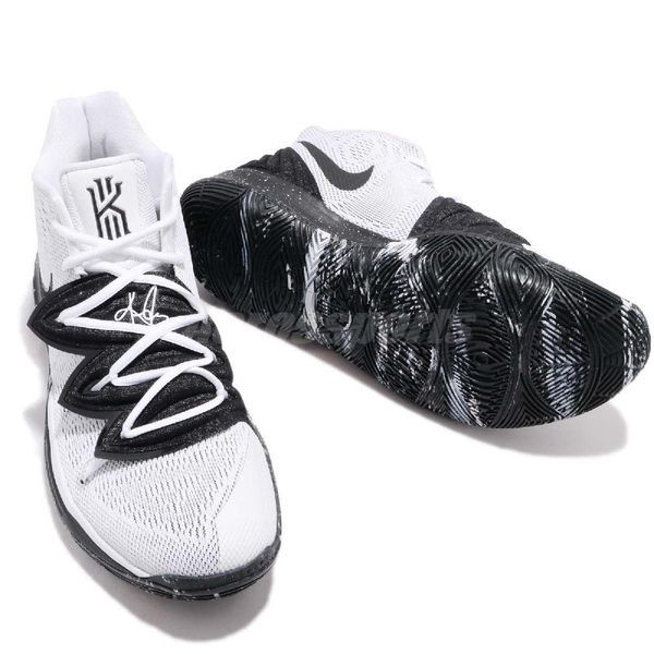 Nike Kyrie 5 EP Cookies And Cream 白 黑 籃球鞋 Irving 5代 男鞋 運動鞋【PUMP306】 AO2919-100