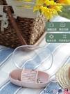 熱賣飾品收納盒 洛哈思首飾收納盒小精致便攜耳釘耳環項鍊戒指簡約飾品盒透明塑料 coco