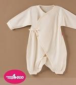 六甲村天賜無染棉綁帶兔裝(新生兒兔衣)/台灣製經SGS安全檢測通過/純棉無漂白