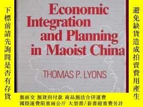 二手書博民逛書店Economic罕見Integration and Planni
