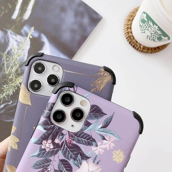 浪漫花系列 |OPPO Reno 5 Pro 4 Pro 2 Z 2Z 四角加厚 蠶絲紋保護套 防指紋 防刮傷手機殼 文藝 軟殼