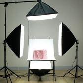 攝影棚套裝補光拍照器材小型LED靜物拍攝臺KM2851『夢幻家居』