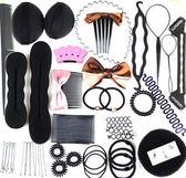 盤發器套裝 丸子頭盤發工具 韓版發飾頭飾 甜甜圈盤發編發器