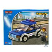 【OXFORD BLOCK】城市系列-警察車 OX93330