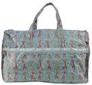 WAYNA 摺疊大旅行袋 - 長頸鹿 藍