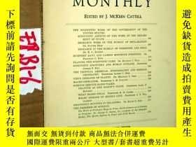 二手書博民逛書店SCIENTIFIC罕見MONTHLY 科學月刊1933年4月