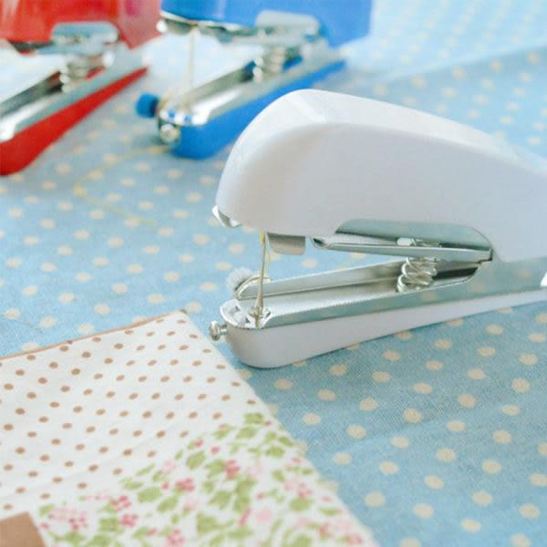 文具   居家迷你手動縫紉機 衣服縫紉 手動縫紉 裁縫 縫紉機 各式縫紉 【PMG032】-收納女王