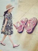 女童鞋 女童涼鞋2018新款韓版夏季時尚軟底水晶小女孩鞋子女兒童公主童鞋【店慶滿月限時八折】