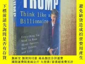 二手書博民逛書店TRUMP:Think罕見Like a BillionaireY238458 DONALDJ DONALDJ
