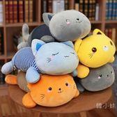 貓咪抱枕被子兩用午睡枕頭辦公室車載枕汽車靠枕靠墊空調被毯子【萬聖節八五折鉅惠】