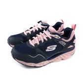 SKECHERS SRR 蹺蹺板 運動鞋 慢跑鞋 女鞋 深藍/粉紅 88888338BNVPK no098