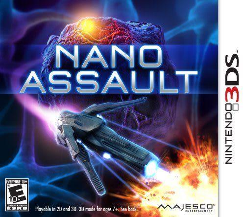 3DS Nano Assault 奈米攻擊(美版代購)