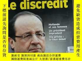 二手書博民逛書店L'EXPRESS罕見2014年1月21日 法語雜誌Y42402