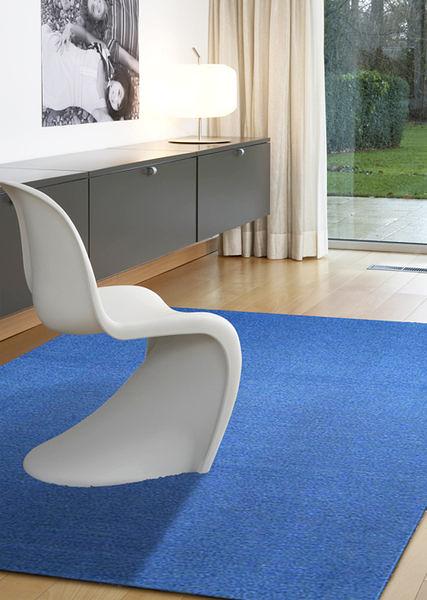 范登伯格 華爾街簡單的地毯-藍-210x260cm