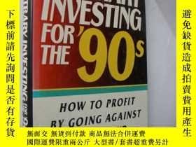 二手書博民逛書店Contrary罕見Investing for the 90s: