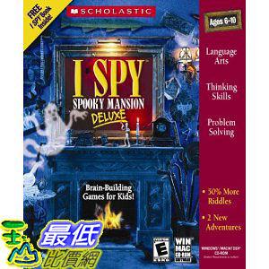 [美國直購 ShopUSA] I Spy: Spooky Mansion Deluxe by Topics Entertainment $969