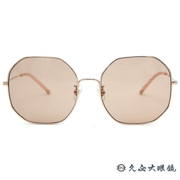 LASH 墨鏡 BLISS PK04 (玫瑰金) 多邊形 韓國 太陽眼鏡 久必大眼鏡
