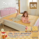【班尼斯國際名床】~【5尺雙人】【清新‧孟宗竹】簡約麻將涼蓆