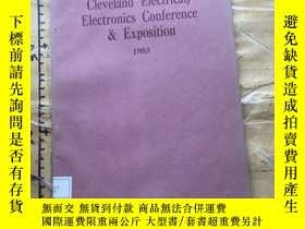 二手書博民逛書店Cleveland罕見Electrical Electronics Conference & Exposition