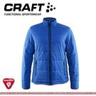 【CRAFT 瑞典 男 Primaloft 保溫棉保暖外套《深藍》】1904569/輕量/防潑水/保暖外套/登山休閒