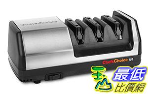 [美國直購] 電動磨刀器 Chef's Choice Model 151 Stainless Steel Universal Electric Knife Sharpener