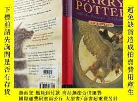 二手書博民逛書店the罕見Prisoner of Azkaban:阿茲卡班的囚犯:Y200392