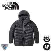 【The North Face 男 800FP局部防水羽絨外套《黑》】3KTD/羽絨衣/保暖外套