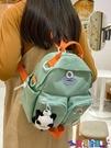 書包後背包女小學生春游外出輕便媽咪小包小號夏季斜背母嬰小背包 寶貝 上新