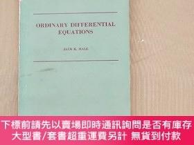 二手書博民逛書店Ordinary罕見Differential Equations 常微分方程 (英文版)Y11026 JACK