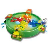 親子遊戲 瘋狂貪吃青蛙吃豆玩具親子互動燃燒吧之大腦兒童趣味玩具 歐歐流行館