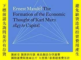 二手書博民逛書店The罕見Formation of the Economic T