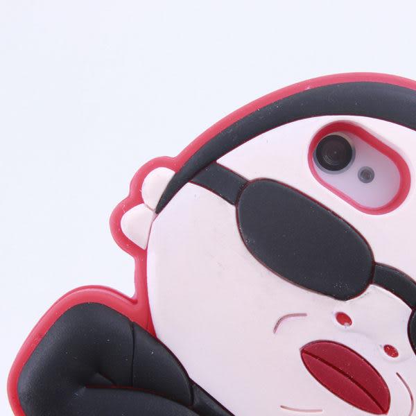 【世明國際】-出清㊕價-i5j8-蘋果IPhone5江南style騎馬舞江南大叔保護殼手機軟套 防摔保護套