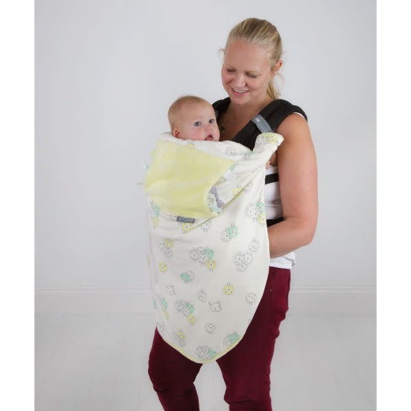 Cheeky Chompers Cheeky Blanket 袋鼠搓搓被/防風毯/冷氣毯 童話牧場/送禮(附提袋)