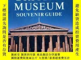 二手書博民逛書店british罕見museum souvenir guideY1