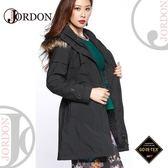【JORDON 橋登 女 GORE-TEX 二件式大衣外套《黑》】1960/防水保暖外套/羽絨衣/風衣