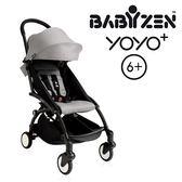 法國【BABYZEN】YOYO-Plus手推車6+ 黑腳 (灰色)