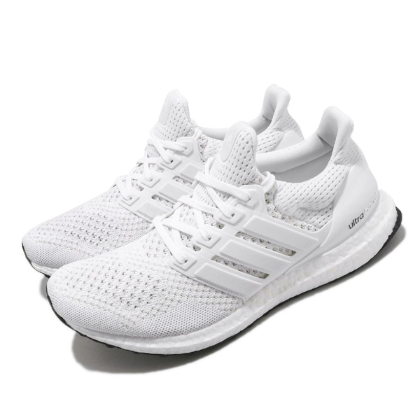 adidas 慢跑鞋 UltraBOOST M 1.0 白 全白 男鞋 女鞋