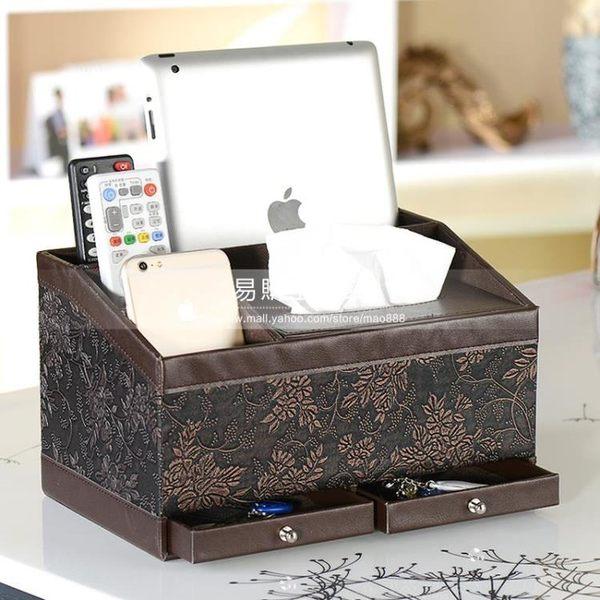 創意歐式家用抽紙盒/簡約桌面收納盒YG-13728